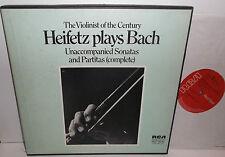 SER 5669/71(LM6105) JS Bach Unaccompanied Violin Sonatas And Partitas Heifetz