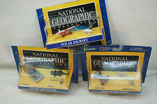 MICRO MACHINES LOT NATIONAL GEOGRAPHIC SETS MOON EXPLORERS POLAR JOURNEY SWAMP