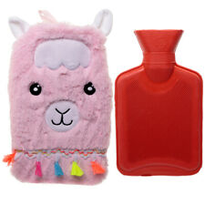 Plush Llamapalooza 1Ltr Hot Water Bottle and Cover Wellbeing Comfort Children's