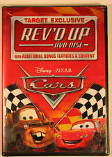 Cars Rev'd Up Target Exclusive DVD Bonus Disc Disney Pixar