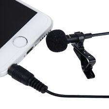 1*I3C Condenser Microphone Tie Clip Lapel 1.5m for IPHONE IPAD IPOD & SMARTPHONE