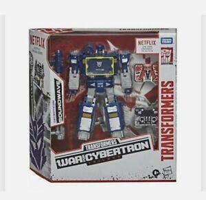 Soundwave - Transformers War for Cybertron - Battle 3-Pack - Netflix