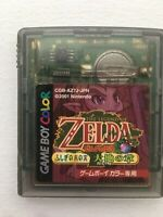 Game Boy Color GBC The Legend of Zelda Oracle of Ages Japanese Import - Tested!