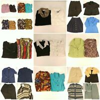 Huge Lot Womens 2X Fall Winter Clothes Office Business Casual Sophisticated Set