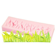 3D Grass Silicone Resin Mold Sugar Craft Fondant Baking Mould Cake Decor DIY New