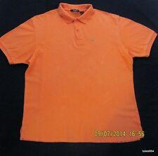Sean John Orange Top Shirt Men Boys Urban Wear XL