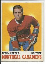 1970-71 OPC OPEECHEE Terry Harper #53 - Canadiens