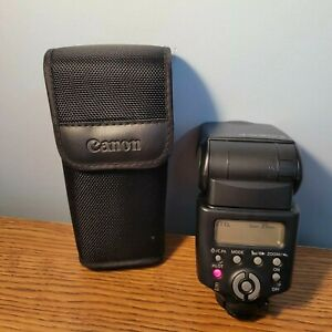 Canon 430EX II SPEEDLITE Shoe Mount Camera Flash for Canon with Case