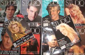 Lot/ 10 Studio magazine / Brigitte Bardot - De Niro - cannes - Catherine Deneuve