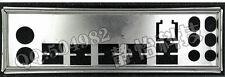 MSI I/O IO BLENDE SHIELD P55M-GD41 MSI io shield P55-SD50 motherboard #G769 XH