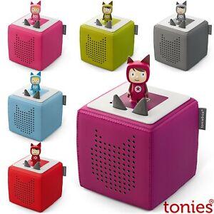 Tonie Toniebox Starterset Inkl. Kreativ Tonie Hörspiel Hörbox Musikbox ab 74,90€