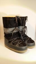 WOMENS MARC BY MARC JACOBS GRAY & BLACK WINTER BOOTS GLITTER LACES SIZE L 9-10