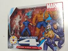 MARVEL FANTASTIC FOUR SET INVISIBLE WOMAN CLEAR THING HERBIE MR FANTASTIC