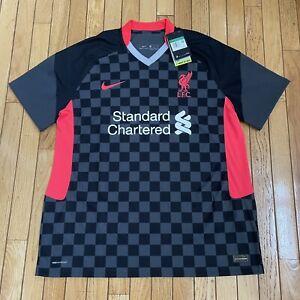 Nike Liverpool Soccer Vaporknit Third Jersey 2020-21 Mens Sz XXL 2XL CZ3200-060