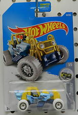 MOUNTAIN MAULER BLUE 4X4 JEEP SNOW STOMERS 5 44 ROD 2016 HW HOT WHEELS