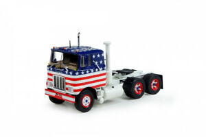 Tekno 71568 Mack F700 Tandem Axle Tractor - US Flag - 1/50 Die-cast MIB NEW