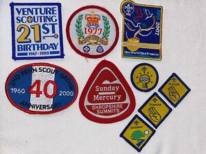 1 of 4 UK Scouting 2007 Scouting Sunrise Centenary Badge