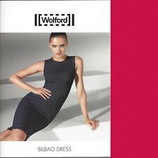 Wolford Bilbao Vestido-XS - China Rojo Pure Elegancia Un Cualquier Día Y Seguir