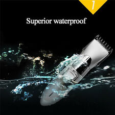 Male Men's Cordless Rechargeable Hair Clipper Beard Trimmer Shavers Grooming Kit