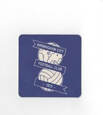 BIRMINGHAM CITY Pack of Official Beer Mats / Coasters FREE POSTAGE UK