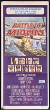 047 MIDWAY Aust daybill '76 Charlton Heston, Henry Fonda, dramatic naval battle
