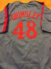 Expos Ross Grimsley signed Jersey W/COA