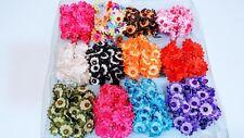 12 pcs /set Elastic Hair Scrunchies Ponytail Holder Band (Assorted Colors).