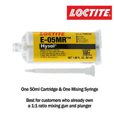 Loctite EA-Hysol E-05MR Moistureant Fast Set Clear Epoxy-50ml cartridge