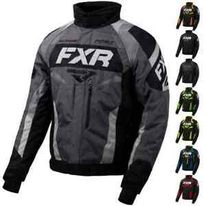 FXR Racing F20 Octane Mens Sled Winter Sport Snowmobile Jacket