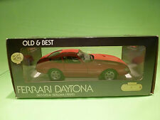 GIODI  1:18  FERRARI DAYTONA 365 GTB/4 BERLINA  - RARE SELTEN - NEAR MINT IN BOX