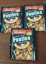 3 Packages of St-Hubert Poutine Sauce gravy mix 52g Canadian product
