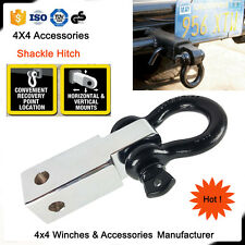 Recovery Hitch Receiver 5 Tonne Rating with Bow Shackle Tow Bar Off Road 4WD