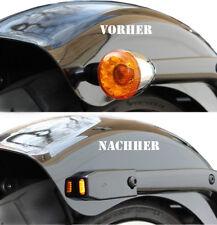 IOMP LED Blinker+Halter für Struts Heck Typ 2 Harley Davidson Breakout 2013-2017