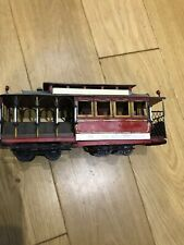 Vintage Tin Plate  scale San Francisco Tram car Powell and Hyde Sts., Retro Toys