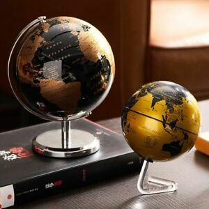 Automatic Rotating LED Light  Globe Constellation World Map Home Table Ornaments
