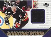 2005-06 Upper Deck Shooting Stars Jerseys #SPB Peter Bondra Jersey - NM-MT