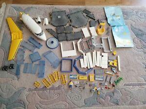 Playmobil Konvolut Flughafen, Ersatzteile, nicht vollständig