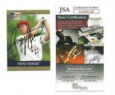 Payne Stewart Autographed 1990 Pro Set Card JSA Professional Golf Champion