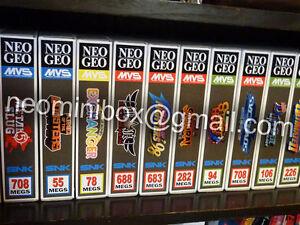 "NEO GEO neominibox 10 BOXES for MVS ""grey design"" box AES Jamma no shockbox"