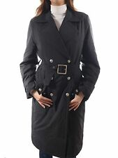 GUCCI Black Trench Coat (SIZE 40)