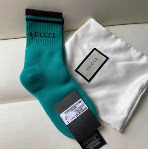 GG Socks Green S Authentic