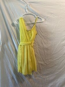 Adult Small Yellow Dance Costume