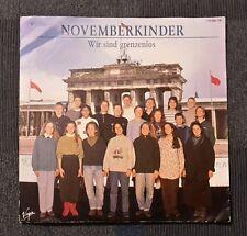 """7"""" Vinyl-Single: November Kinder - Wir sind grenzenlos (Giorgio Moroder, DDR)"""