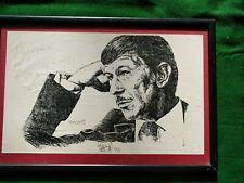 More details for leonard nimoy star trek signed autograph portrait