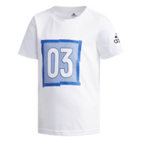 Adidas Jungen T-Shirt Grafik Jugend Kinder Training Lifestyle Mode DW4099