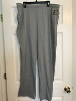 Women's Tek Gear Ultrasoft Jersey Pants Oxford Gray XLarge