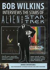 Bob Wilkins Interviews The Stars of Alien + Star Trek The Motion Picture Dvd oop
