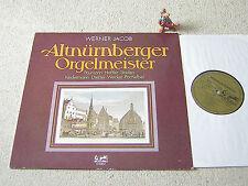Werner Jacob altnürnberger Orgel maestro 1979 GER LP EURODISC