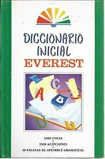 Dicionario Inicial Everest by Equipo Staff (Hardcover)