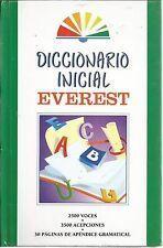 Dicionario Inicial Everest by Equipo Staff (Hardcover)